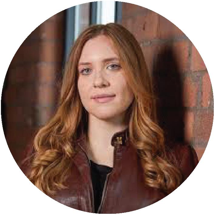 Headshot image of Genevieve LeBaron